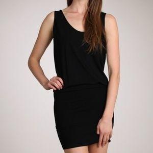 M.Rena Sleeveless Black Seamless Dress Tunic OSFM